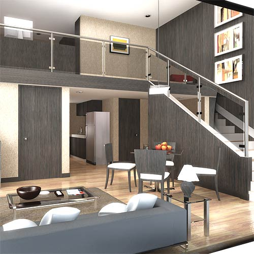 Loft House Designs On A Budget: Attico O Loft .. ?