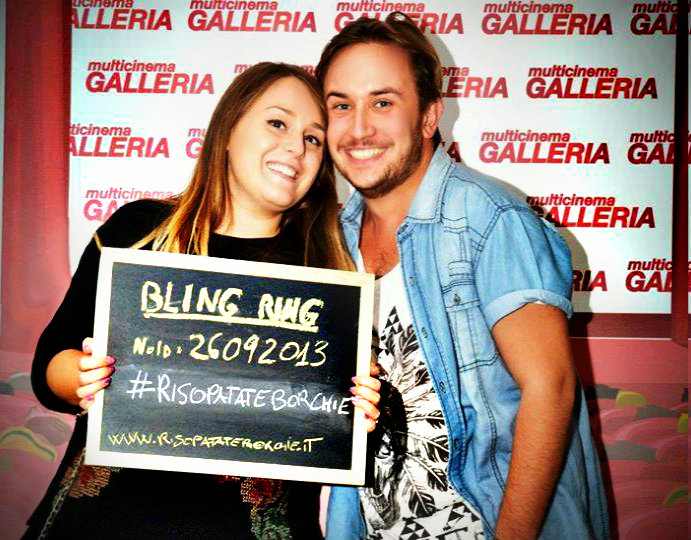 Prima Bling Ring.  26/09/2013 me and my love =)